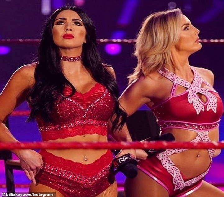 Meet Australia's WWE superstar Billie Kay who is taking over the wrestling world