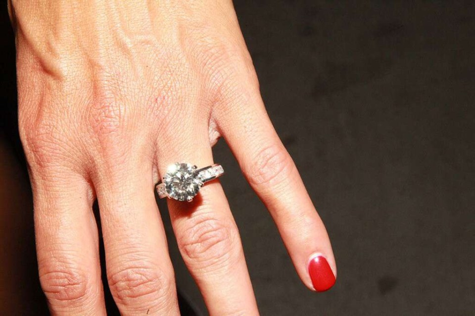 Nikki Bella engagement ring