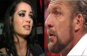 PAIGE AND TRIPLE H Pay Tribute