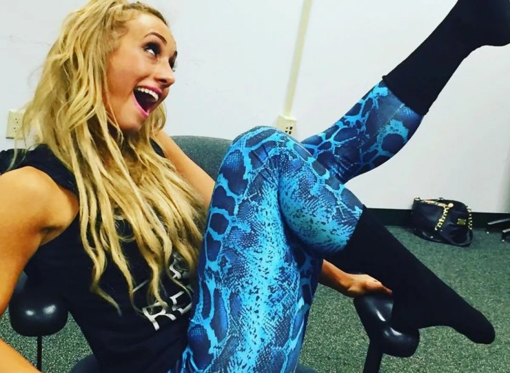 WWE SmackDown Star Carmella