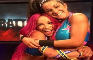 WWE Star Bayley and sasah