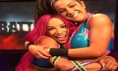 WWE Star Bayley and sasah