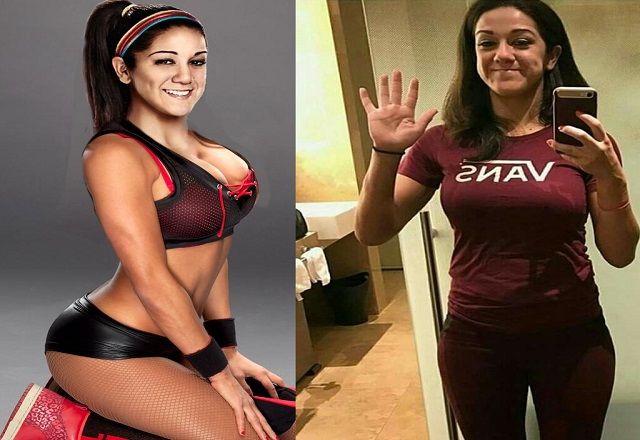 WWE star Bayley new look