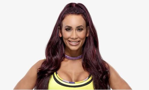 Carmella WWE star
