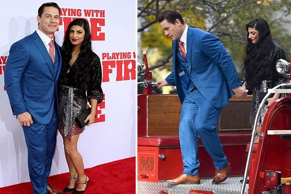 John Cena & Girlfriend Shay Shariatzadeh