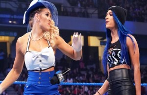 Sasha Banks drags Lacey Evans Daughter into feud