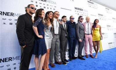 Cody Rhodes, Matt Jackson, Nick Jackson, Tony Khan, Brandi Rhodes, Britt Baker, Kenny Omega, Hangman Adam Page, AEW Stars