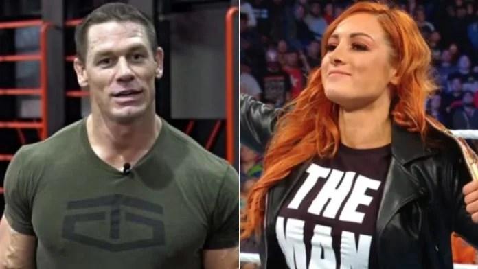 John Cena Praises Becky Lynch