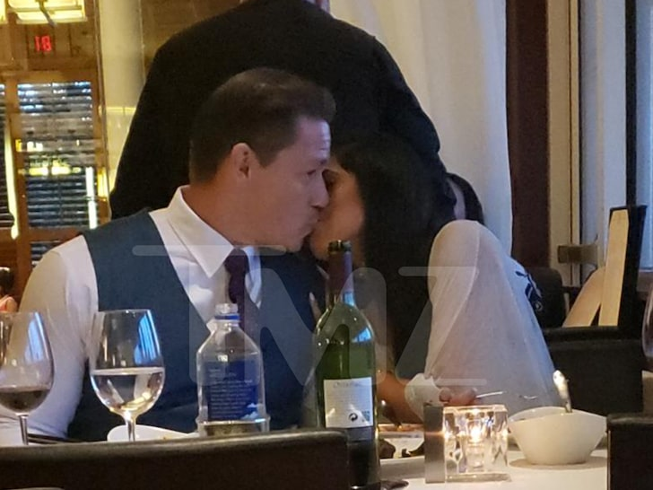 John Cena was spotted making out with his new GF Shay Shariatzadeh
