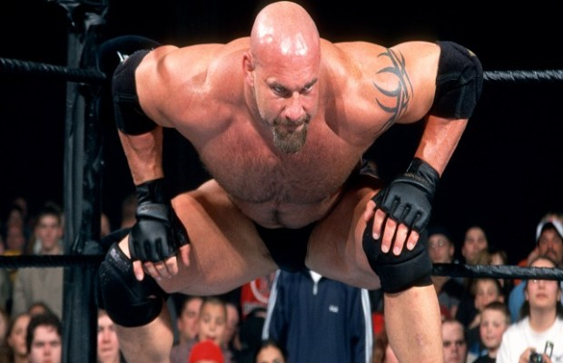 Bill Goldberg WWE WCW Spear