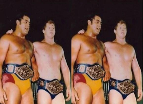 Bob Backlund and Pedro Morales