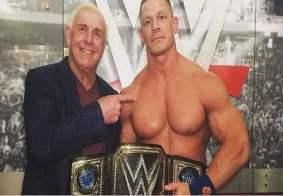 Ric Flair and John Cena