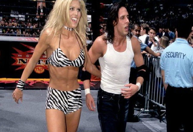 Torrie Wilson and Billy Kidman