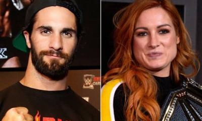 WWE Stars Seth Rollins and Becky Lynch
