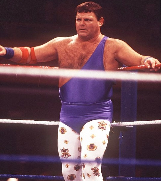WWE legend Jerry The King Lawler while wrestling