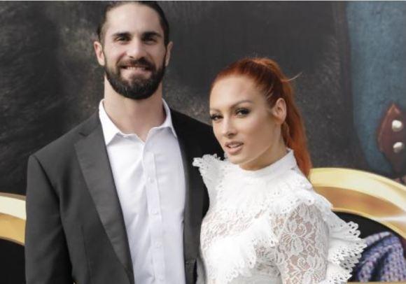 Becky Lynch & Seth Rollins
