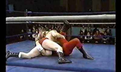 Dino Bravo beat colleage
