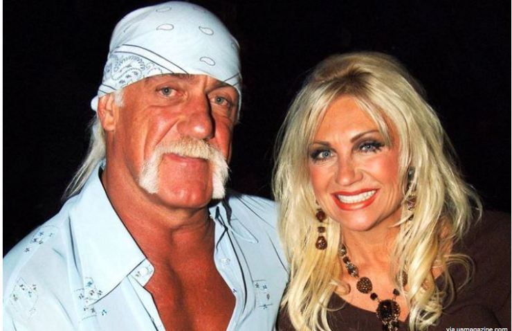 Hulk Hogan and ex-wife