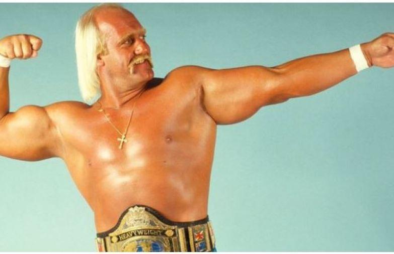 Hulk Hogan smile