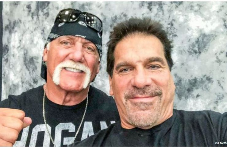 Hulk Hogan with friend