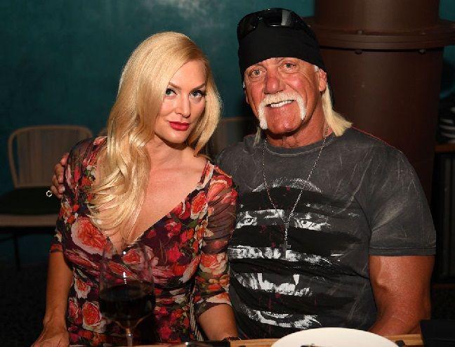 Hulk Hogan with ex-wife