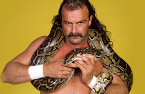 Jake Roberts with snake