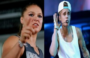Ronda Rousey Blasts Pop Star Justin Bieber For Messing With Her Sister See What She Told Him …