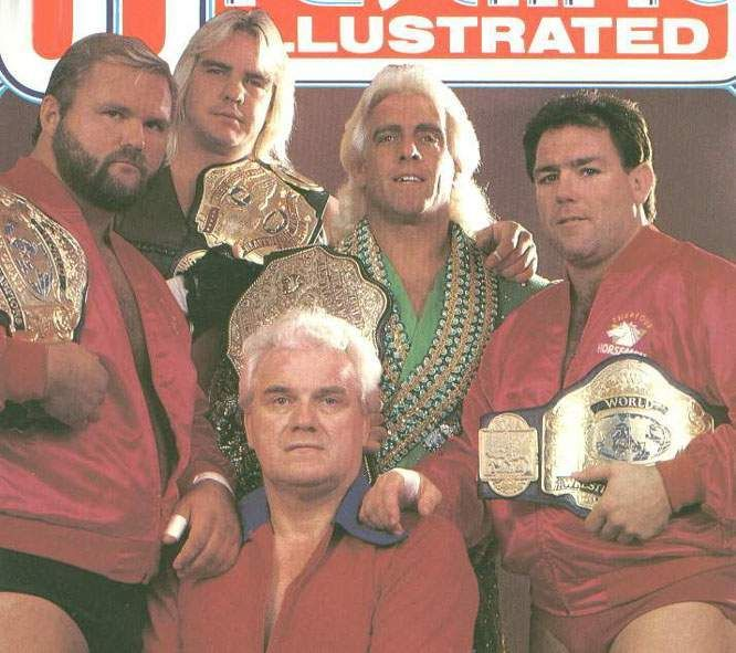Barry Windham and crew