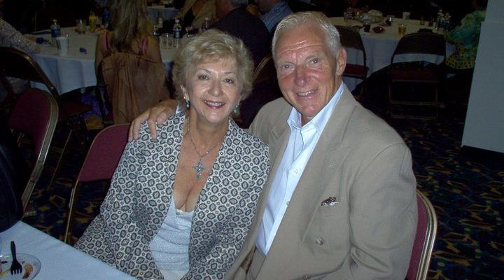 Bobby Heenan and wife
