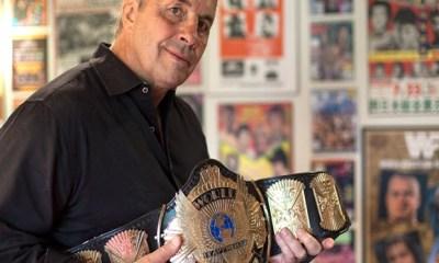 Bret Hart wrestling legend