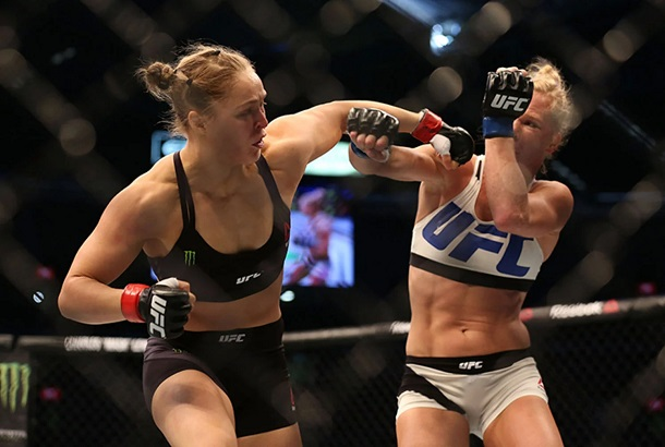 Ronda Rousey Lost Her First UFC Fight Ever