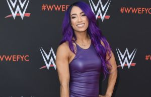 Sasha banks smile