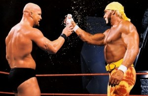 Stone Cold and Hulk Hogan
