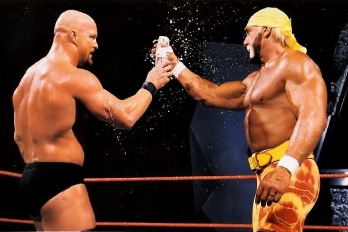 Stone Cold and Hulk Hogan