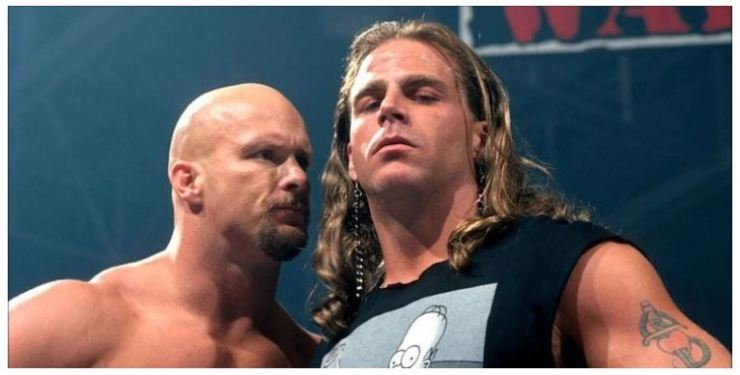 Stone Cold and Shawn Michael