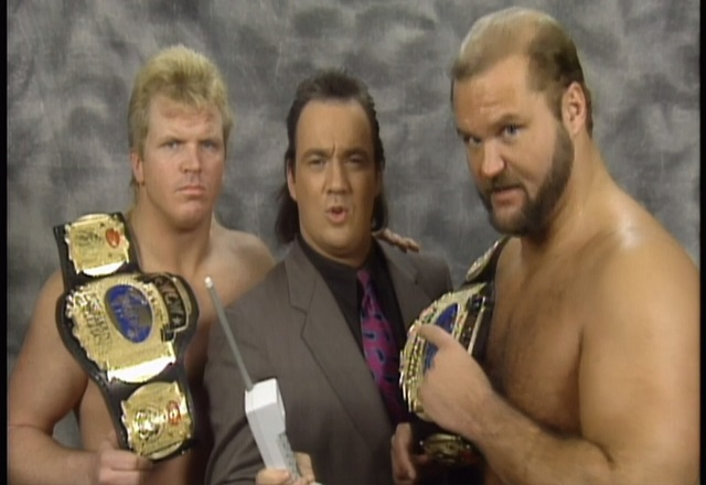 Beautiful Bobby Eaton and Arn Anderson with Paul E