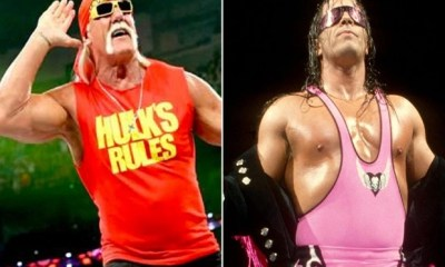 Bret Hart relationship with Hulk Hogan