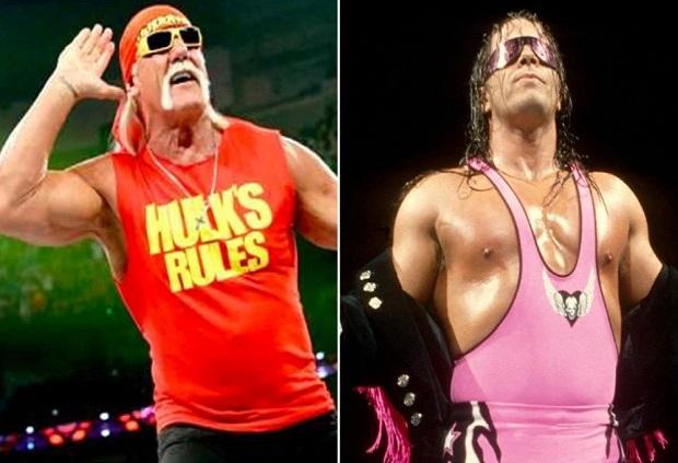 Bret Hart relationship with Hulk Hogan