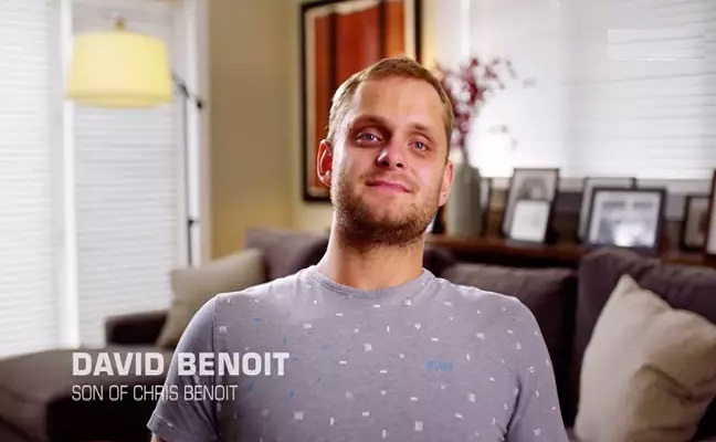 David Benoit, son of Chris Benoit