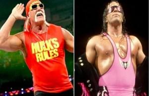 Hulk Hogan and Bret Hart