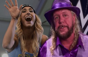 Michael Hayes and Carmella