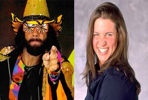 Randy Savage and Stephanie McMahon