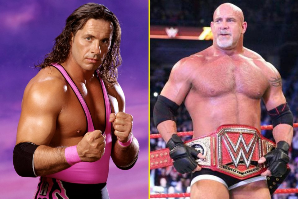 Bill Goldberg and Brat Hart act