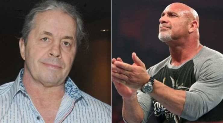 Bill Goldberg and Bret Hart aged