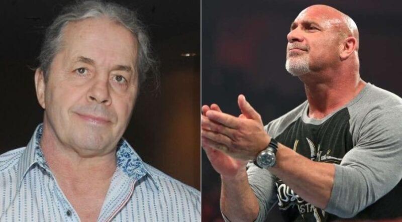 Bill Goldberg and Bret Hart aged
