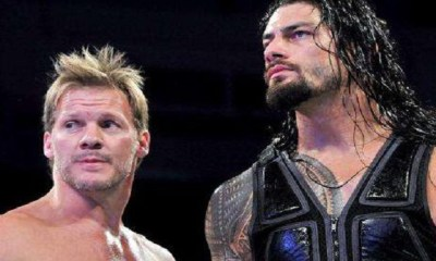 Chris Jericho and Roman Reigns