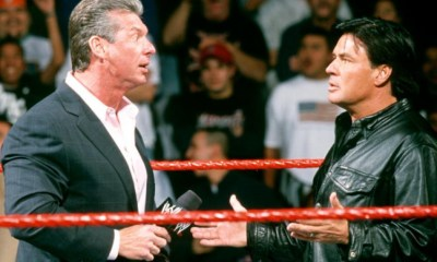 Eric Biscoff and Vince Mcmahon dialogue