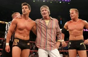 Kevin Von Erich and sons