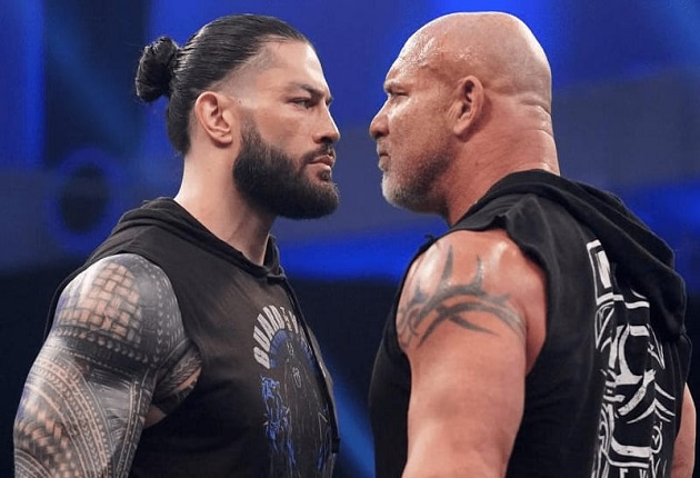 Roman Reigns vs Goldberg