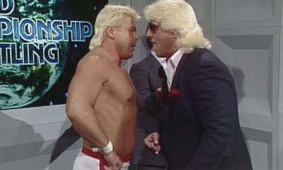 Ronnie Garvin and Ric Flair